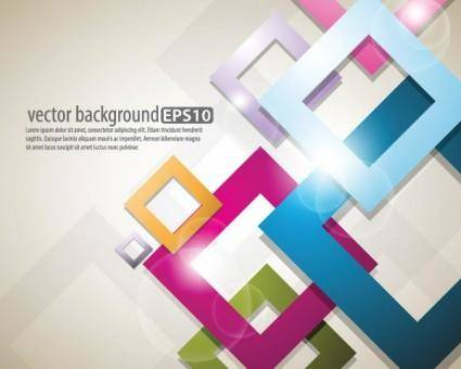 free vector Bright starstudded background 03 vector