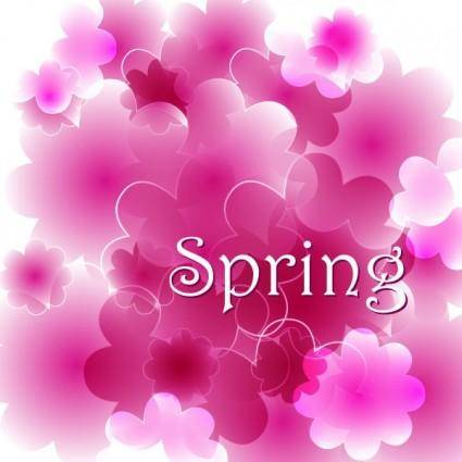 free vector Spring vector background 3