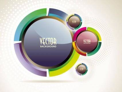 free vector The trend of dynamic flare background 03 vector