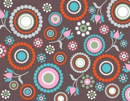 Fine pattern background 03 vector
