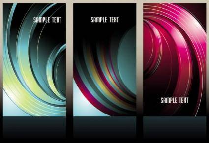 free vector Beautiful threedimensional box background 05 vector