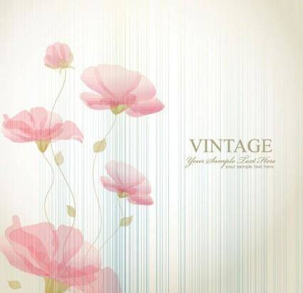 free vector Classic pattern background 04 vector