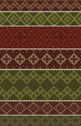 Sweater texture background vector 2