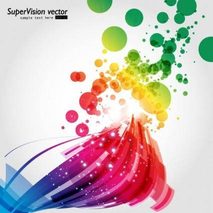 Beautiful dynamic background 04 vector