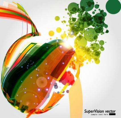 Beautiful dynamic background 05 vector