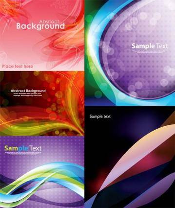 Colorful vector background dream dynamic