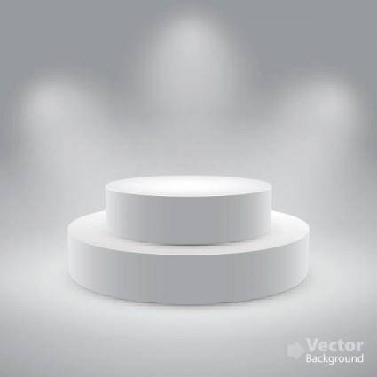 White space to display 03 vector