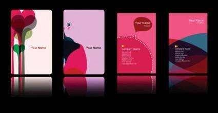 free vector Peach pink card background vector