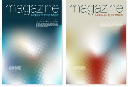 free vector Magazine cover background vector