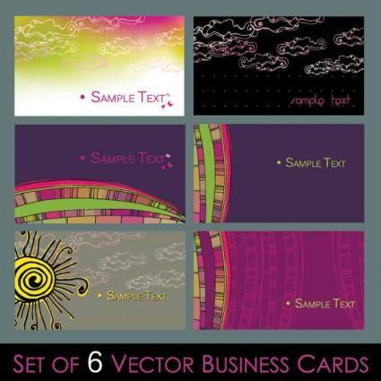 free vector Lovely card background vector