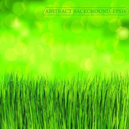 free vector Green grass background vector