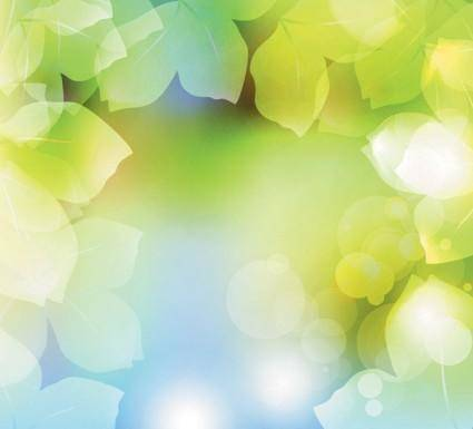 free vector Dream vector background plant 1