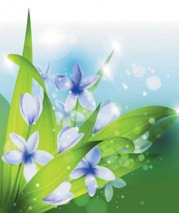 Dream vector background 2 plant