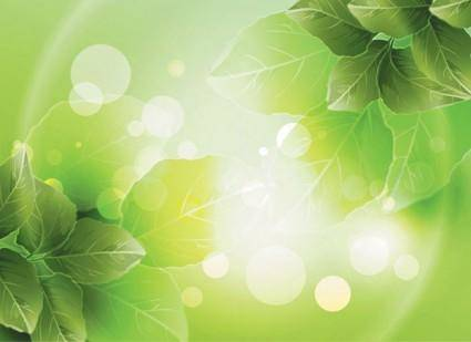 free vector Dream vector background 3 plant