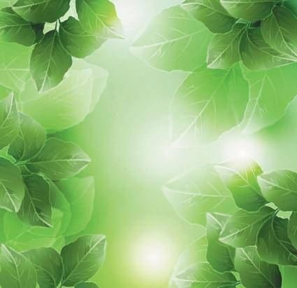 free vector Dream vector background 4 plant
