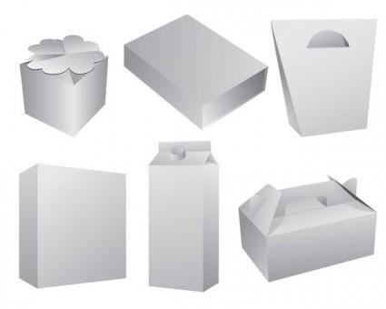 free vector Vector 5 blank box