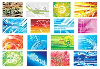 Hightech digital background pattern vector