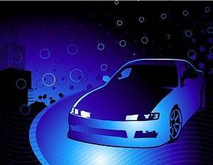 free vector Cars and cool background vector