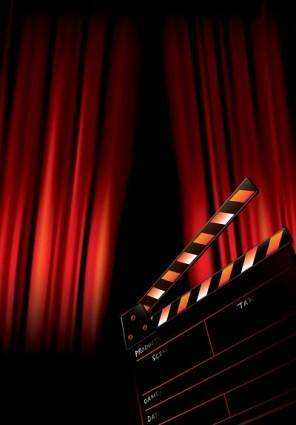 Movie posters vector background