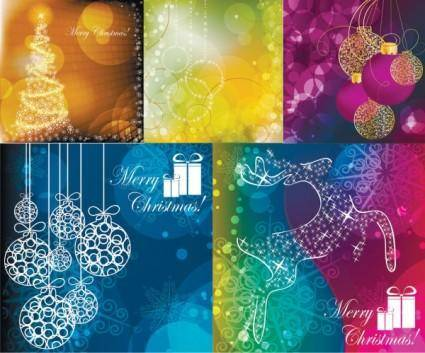 free vector Christmas vector background dream