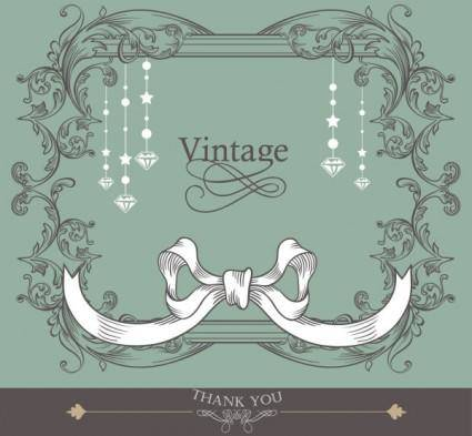 Lines lace background 03 vector