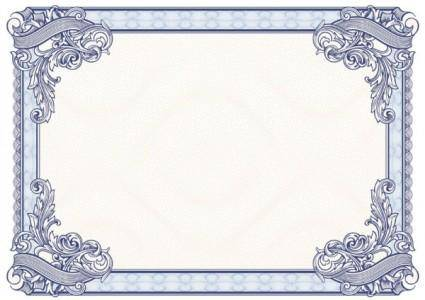 Beautiful border pattern background 02 vector