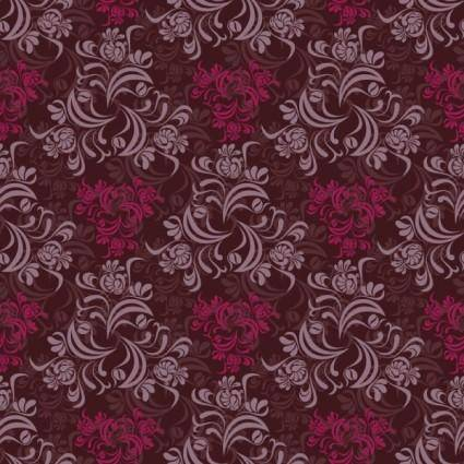 free vector Retro pattern background pattern vector