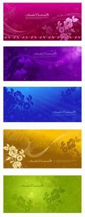 free vector Dark background pattern vector dream