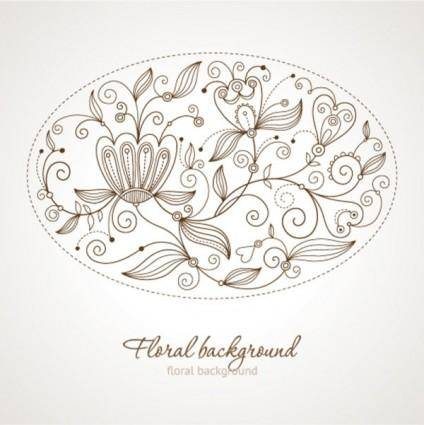 Fine background pattern 05 vector