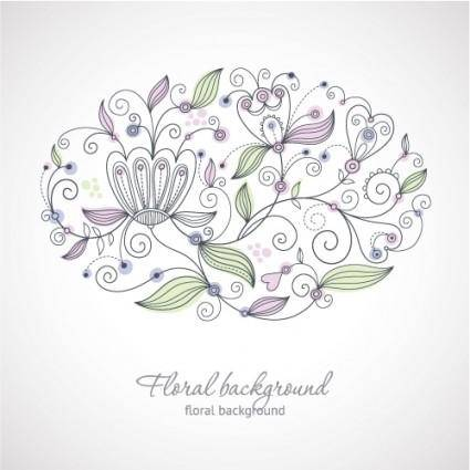 Fine background pattern 02 vector