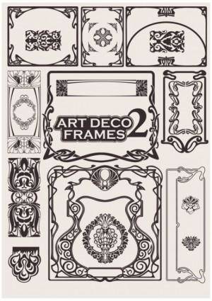 free vector Exquisite decorative pattern background 02 vector