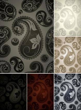 Fine pattern background 05 vector