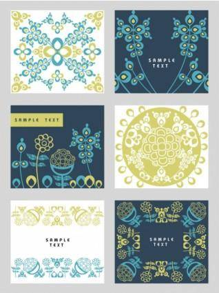 free vector Classic pattern background 02 vector