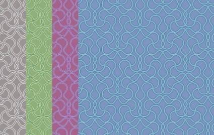 Fine line pattern background 02 vector