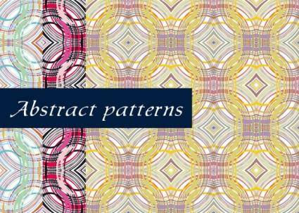 free vector Fine line pattern background 03 vector