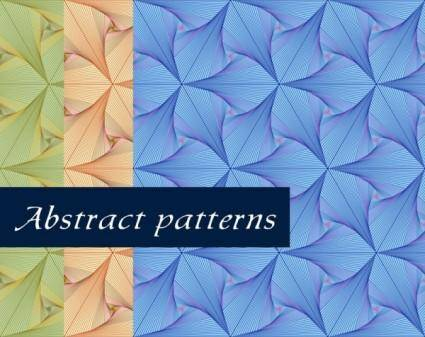free vector Fine line pattern background 05 vector