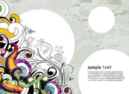 Classic fashion pattern background 02 vector
