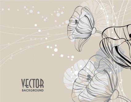 free vector Elegant pattern background 02 vector
