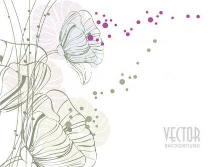 free vector Elegant pattern background 03 vector