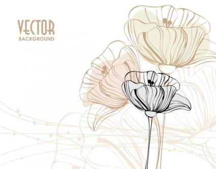 free vector Elegant pattern background 04 vector
