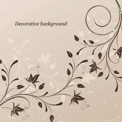 free vector Classical pattern background 02 vector