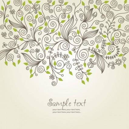 free vector Classical pattern background 04 vector