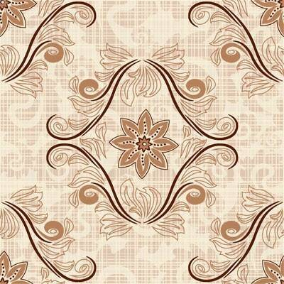Retro pattern background vector 2