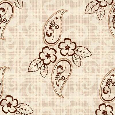 Retro pattern background vector 5
