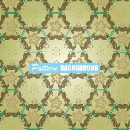 Simple and elegant pattern background 04 vector