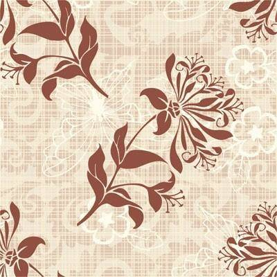 Retro pattern background vector 1