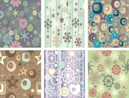 Pattern background vector 18028