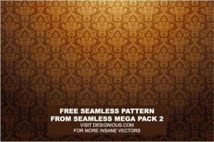 free vector European gorgeous tiled background pattern vector
