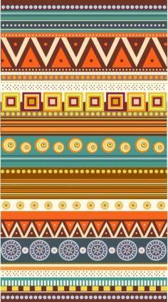 free vector Classic pattern background vector