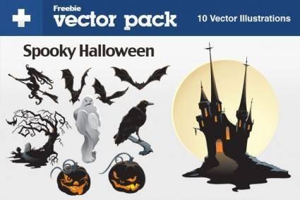 free vector Halloween elements vector